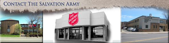 Contact The Salvation Army
