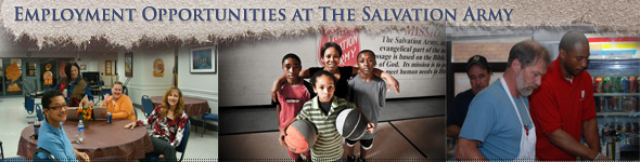 Career Opportunities at The salvation Army